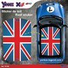 Stickers toit Mini 1:5  British