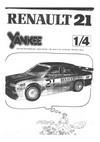 Notice Renault 21